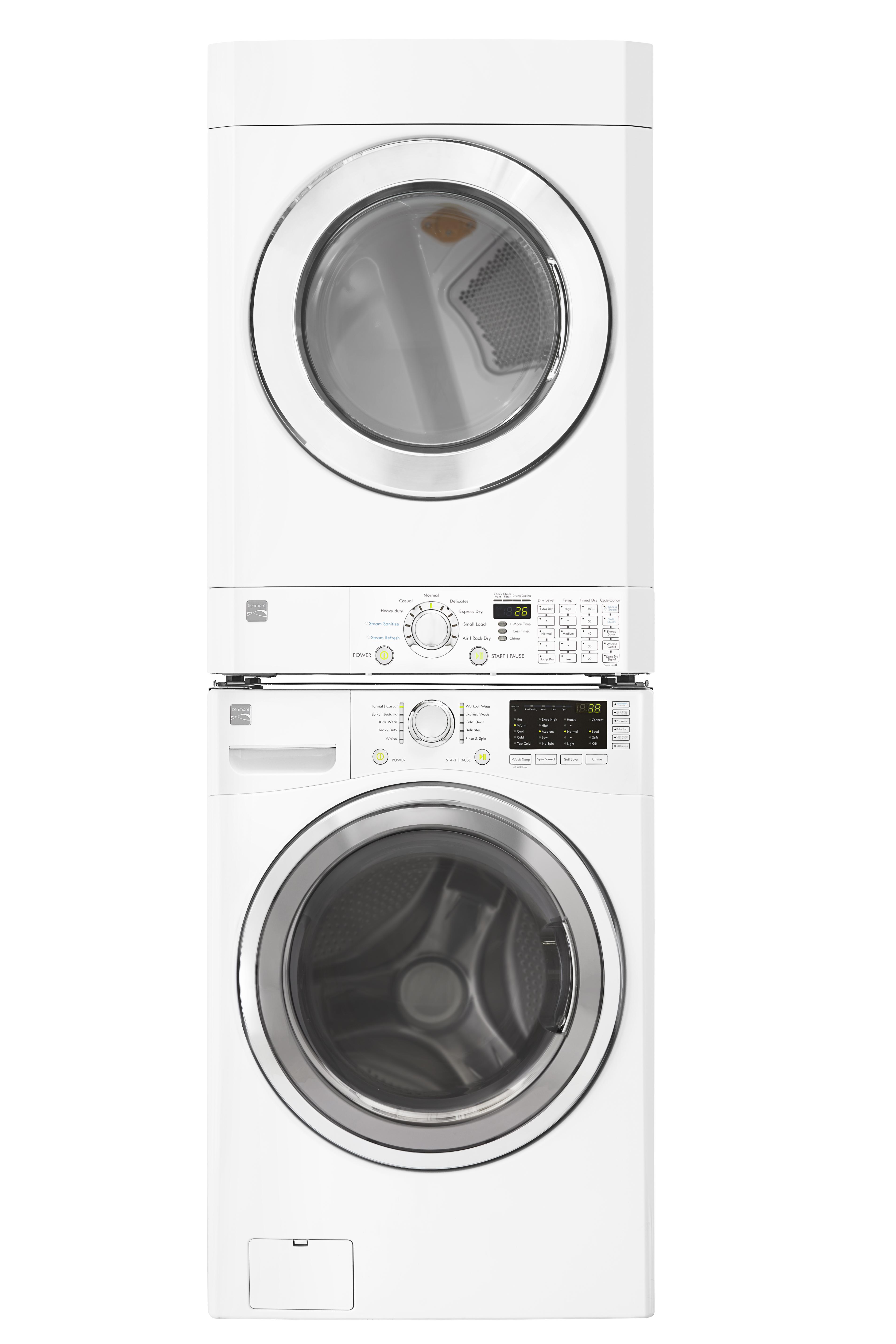 4.5 cu. ft. Front Load Washer & 7.3 cu. ft. Dryer Bundle - White