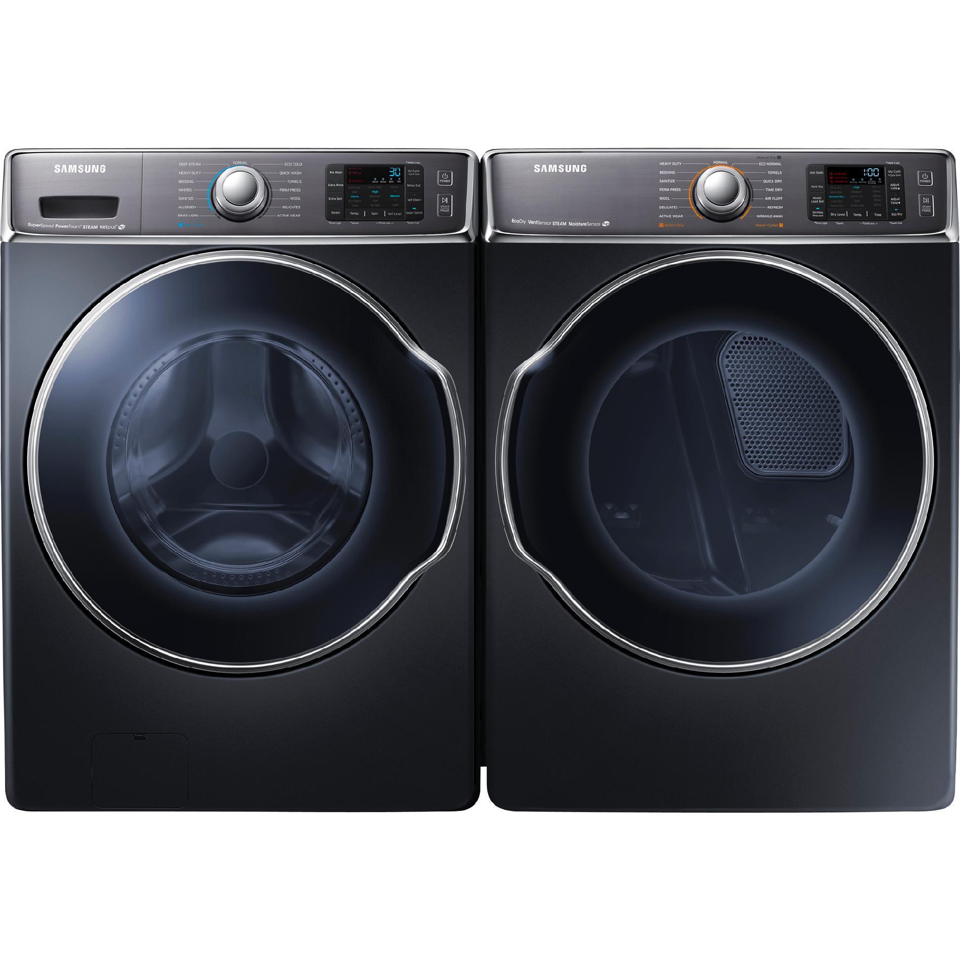 5.6 cu. ft. Front-Load Washer & 9.5 cu. ft. Front-Load Dryer Bundle