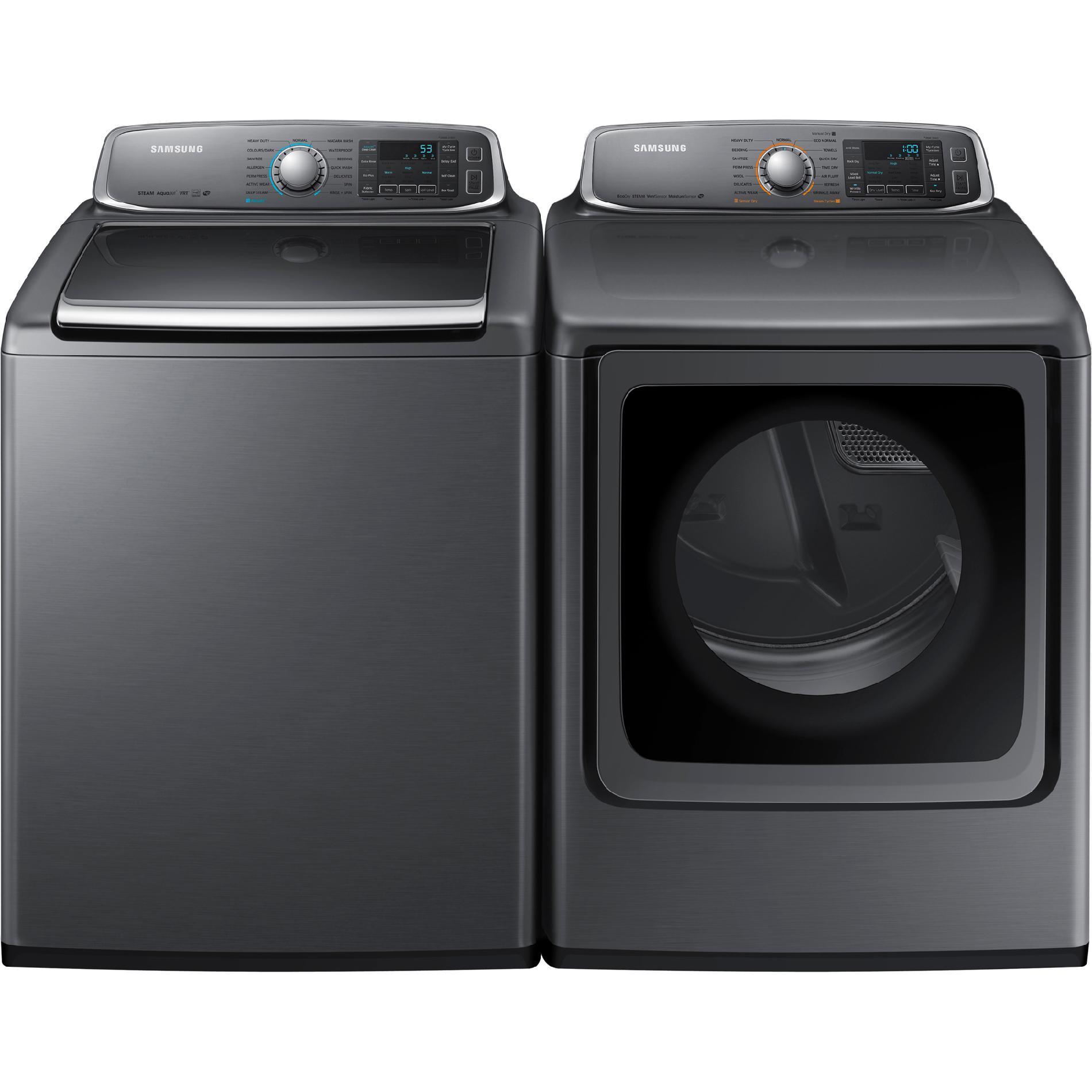 5.6 cu. ft. Top-Load Washer & 9.5 cu. ft. Dryer Bundle