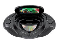 iLive DVD Boombox for iPod and iPhone IBPD882B