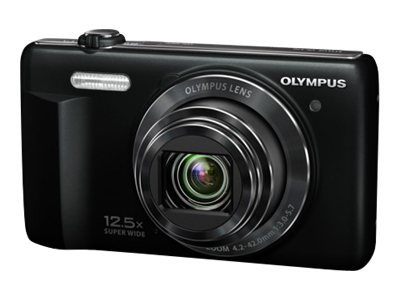 Olympus VR370 16MP, 12.5x wide Angle Optical/4x Digital Zoom Digital Camera