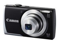 Canon PowerShot A2500 16-Megapixel Digital Camera - Black