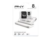 PNY 8GB MicroSDHC Memory Card