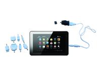 """Kaser Net'sGo2 7"""" Tablet w/4G TF card(pre-inserted) & Car charger Bundle"""