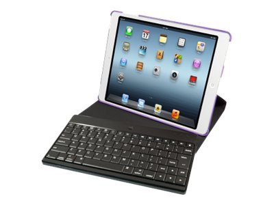 iHOME Bluetooth Hybrid Case for iPad® Mini, Purple