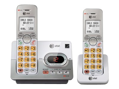 AT&T 2 Handset Answering System w/ Caller ID, Call Waiting EL52203