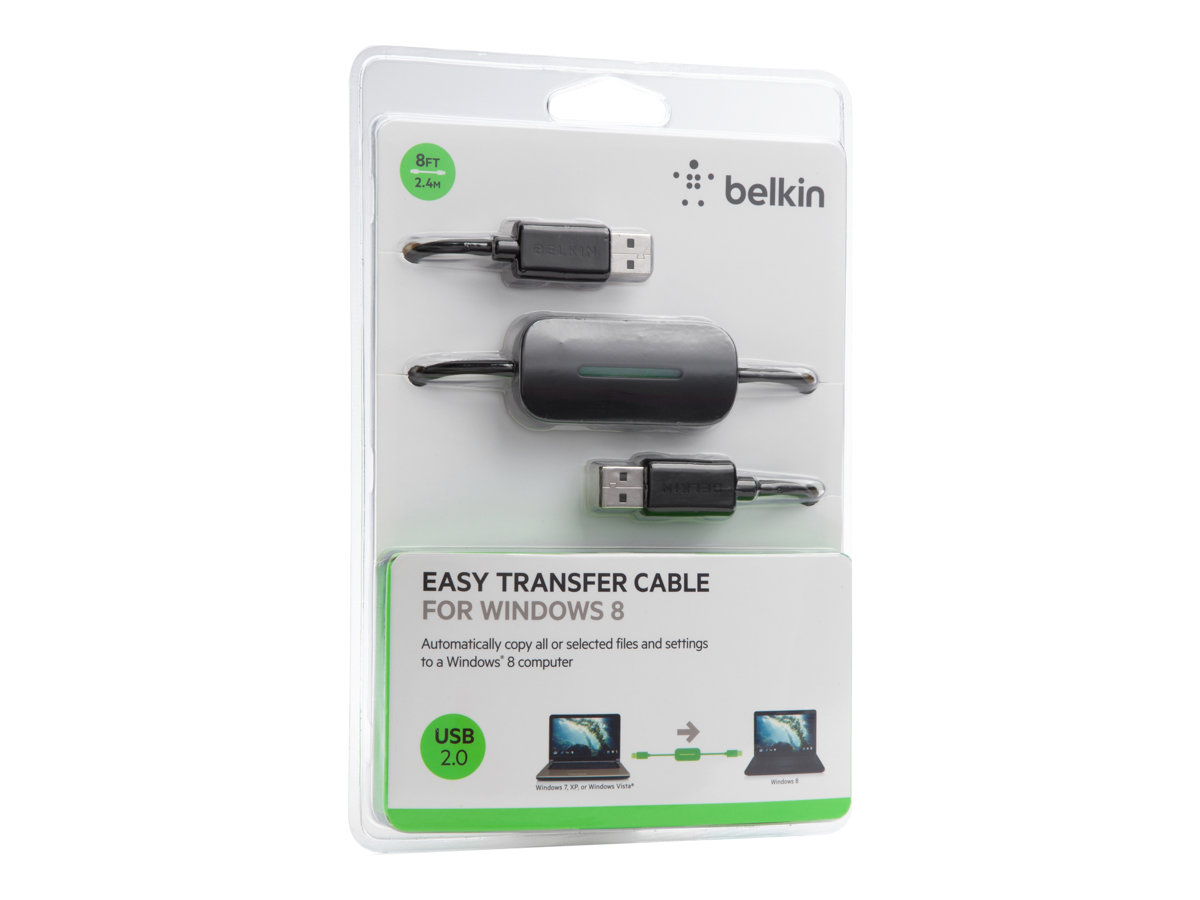 Belkin Easy Transfer Cable for Windows 8 F4U060