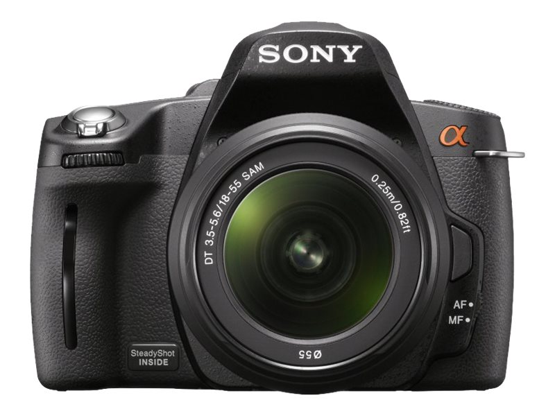 Sony 14.2 Megapixel Digital SLR Camera- Black
