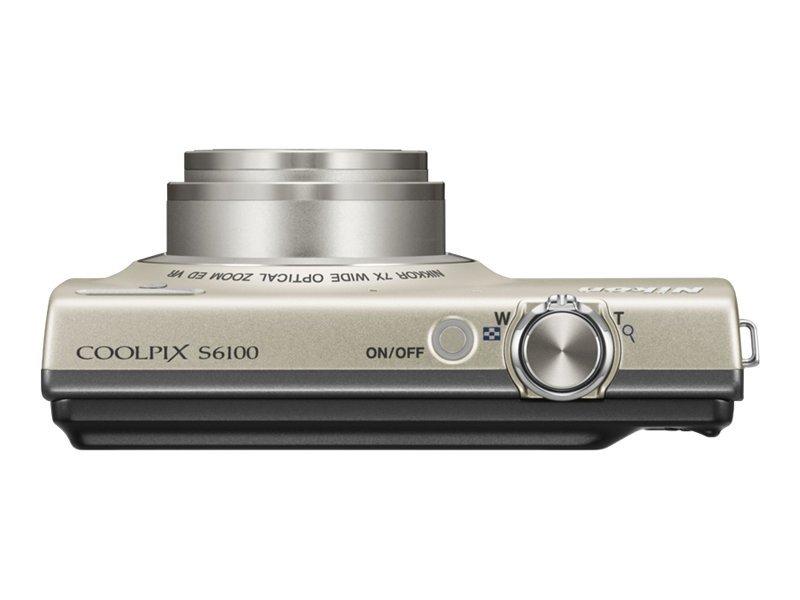 Nikon COOLPIX S6100 Silver