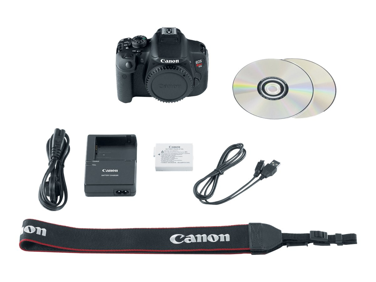 Canon 18-Megapixel EOS Rebel T5i Digital Camera with 18-55mm Lens Kit