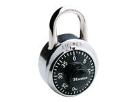 Master Lock 1-7/8 in. Black Dial Combination Lock