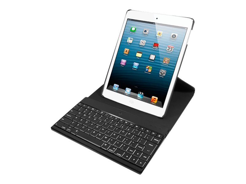 iHOME Bluetooth Keyboard Case for iPad® Mini, Black