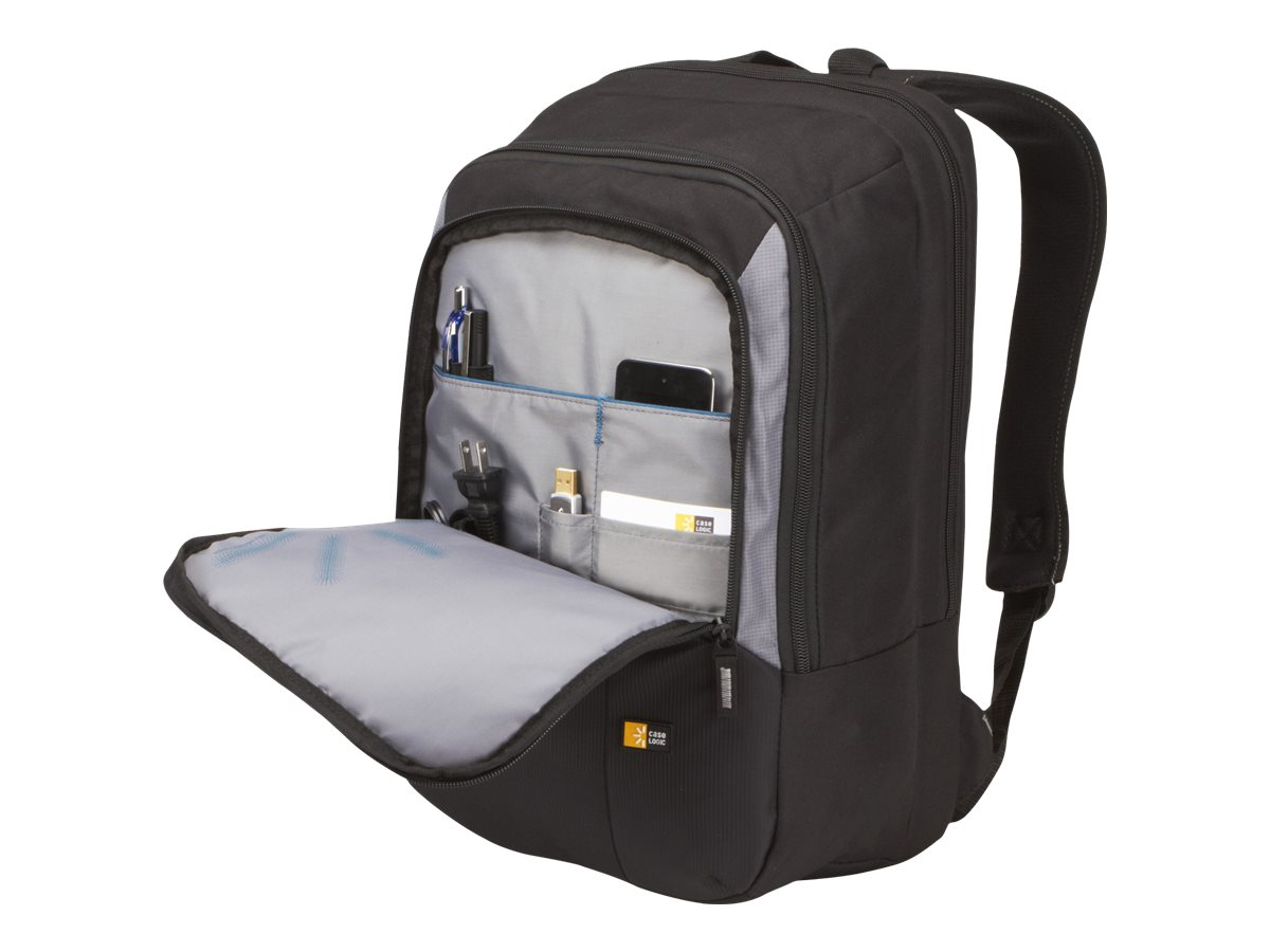 "Case Logic 17"" Black Notebook Backpack - VNB-217BLACK"
