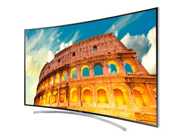 "Samsung 55"" 1080p 240Hz 3D Curved LED Smart Full HDTV - UN55H8000"