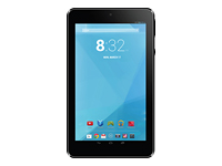 """TRIO Stealth G4 7"""" Black Tablet with 8GB and Android 4.4 - Black"""