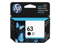 HP 63 Ink Cartridge - Black (F6U62AN)