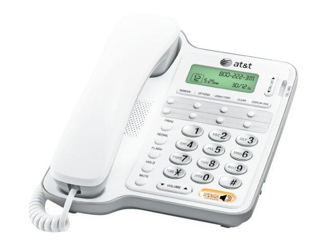 AT&T Corded Speakerphone - White