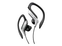 JVC Ear Clip Headphones for Sports - Silver