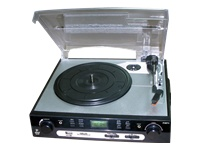 Pyle Turntable with USB and SD Card Encoder