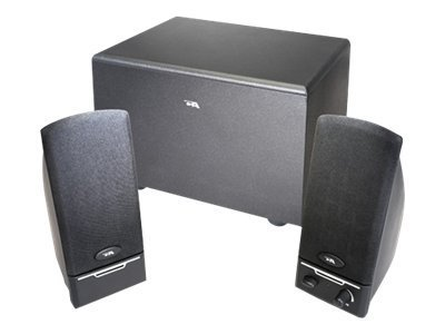 Cyber Acoustics 2.1 Powered Computer Speaker System with Subwoofer