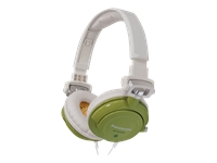 Panasonic DJ Street Model Headphones - Green