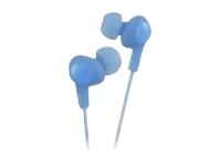 JVC Inner Ear Gumy Plus Headphone - Blue HAFX5A