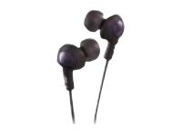 JVC Inner Ear Gumy Plus Headphone - Black HAFX5B
