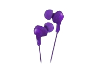 JVC Inner Ear Gumy Plus Headphone - Violet HAFX5V