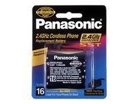 Panasonic Replacement Battery for Panasonic KX-TG2400, KX-TG2500, KX-TG2550, KX-TG2570