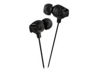 JVC Xtreme Xplosive Inner Ear Headphones - Black HAFX101B