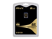 "PNY 8GB Class 4 Secure Digital"" High Capacity (SDHC)"