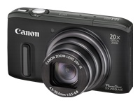 Canon PowerShot SX260 HS Digital Camera - Black