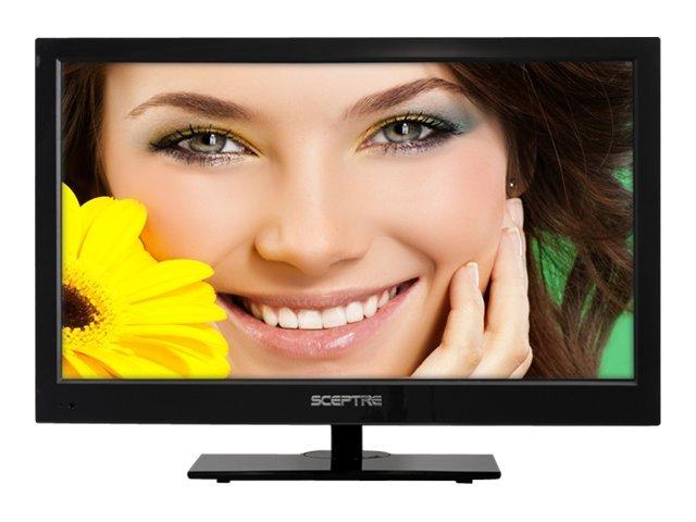 Sceptre Sceptre E243LV-FHD 24 Blue 1080P LED HDTV 5ms, 3x HDMI, 1920x1080 Resolution, 250cd/m2 Brightness, USB