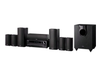Onkyo 7.1-Channel HT-S5500 Home Theater Receiver/Speaker Package