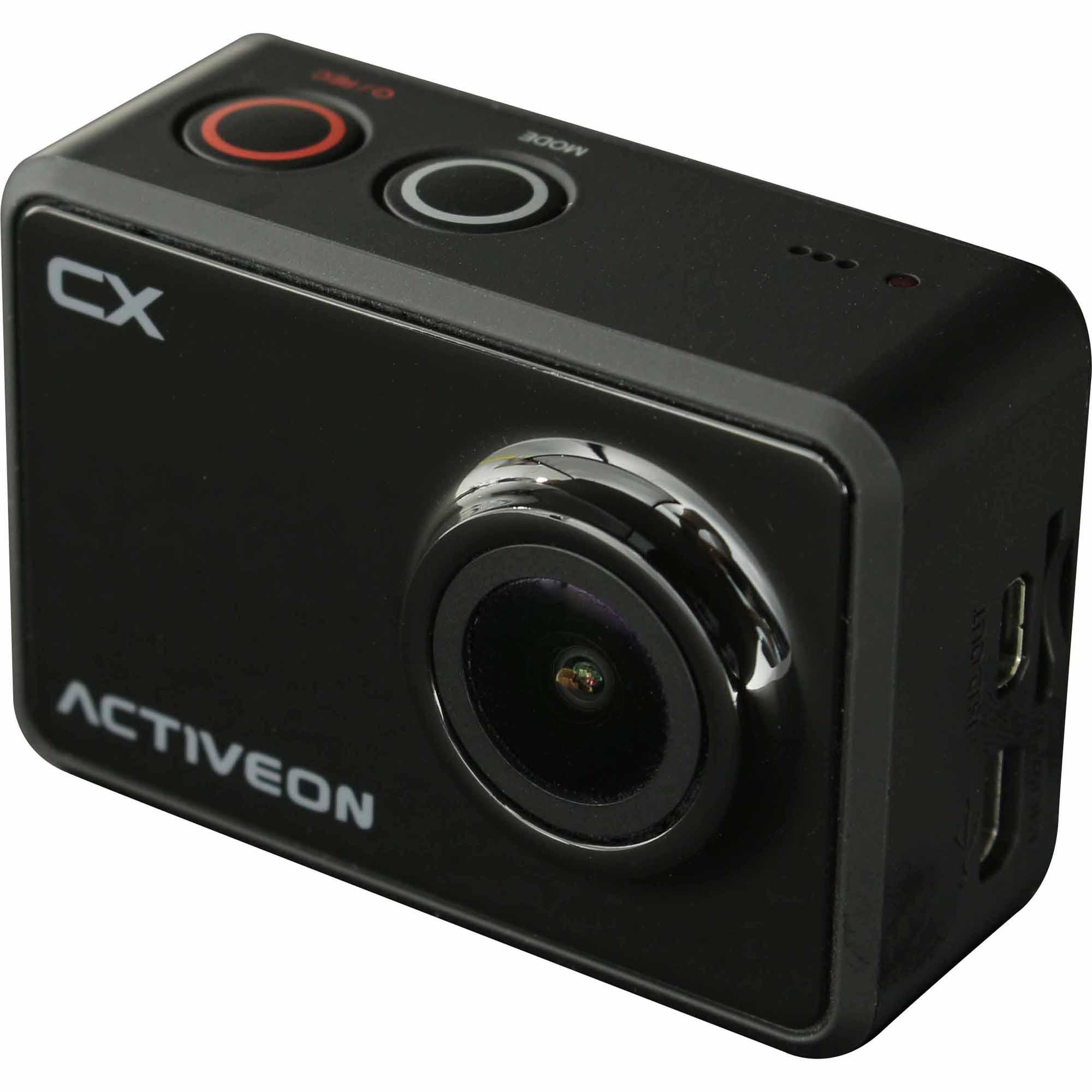 Activeon 5-Megapixel Action Cam CX w/ Built-In WiFi - Black