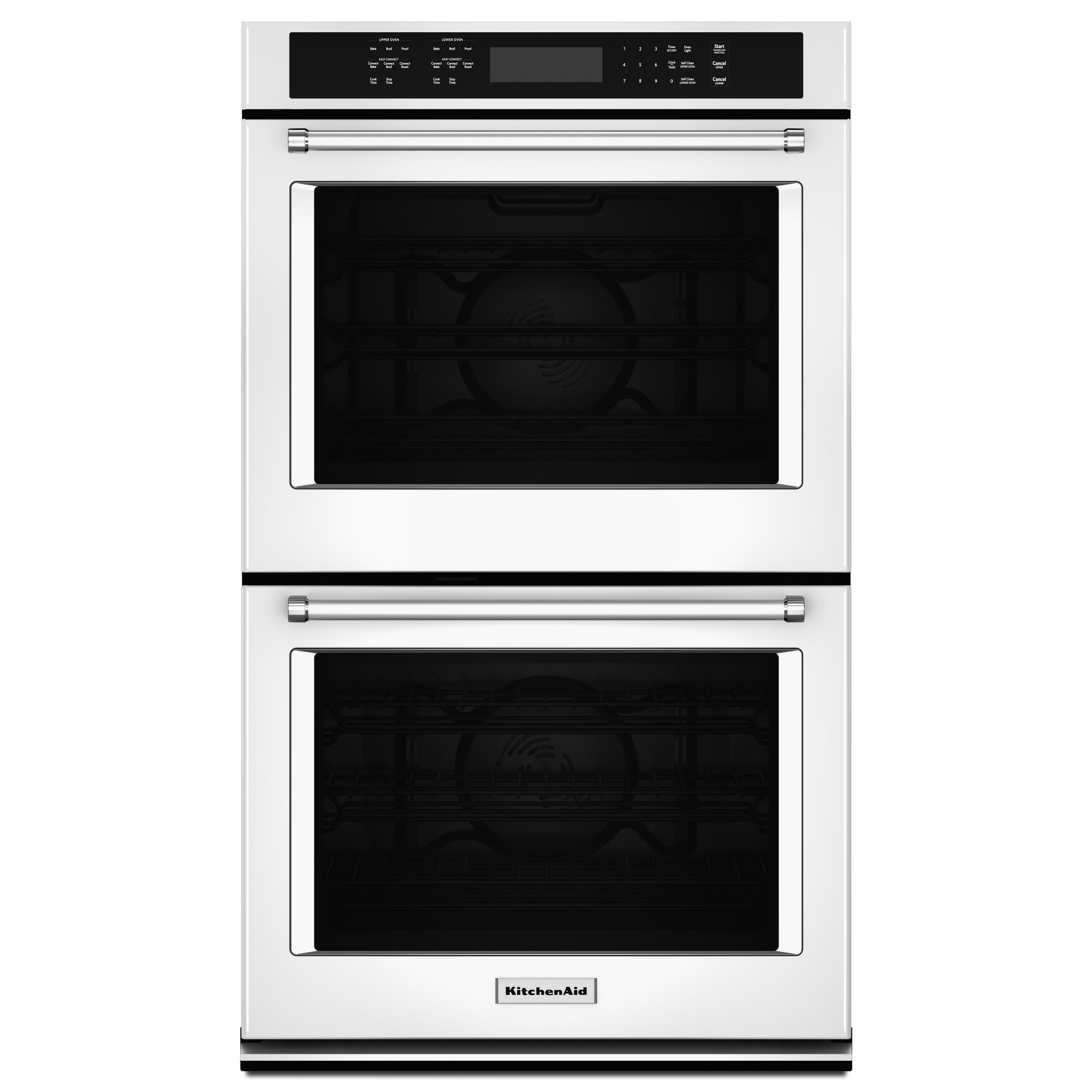 KitchenAid KODE500EWH 30 Double Wall Oven w/ Even-Heat™ True Convection - White