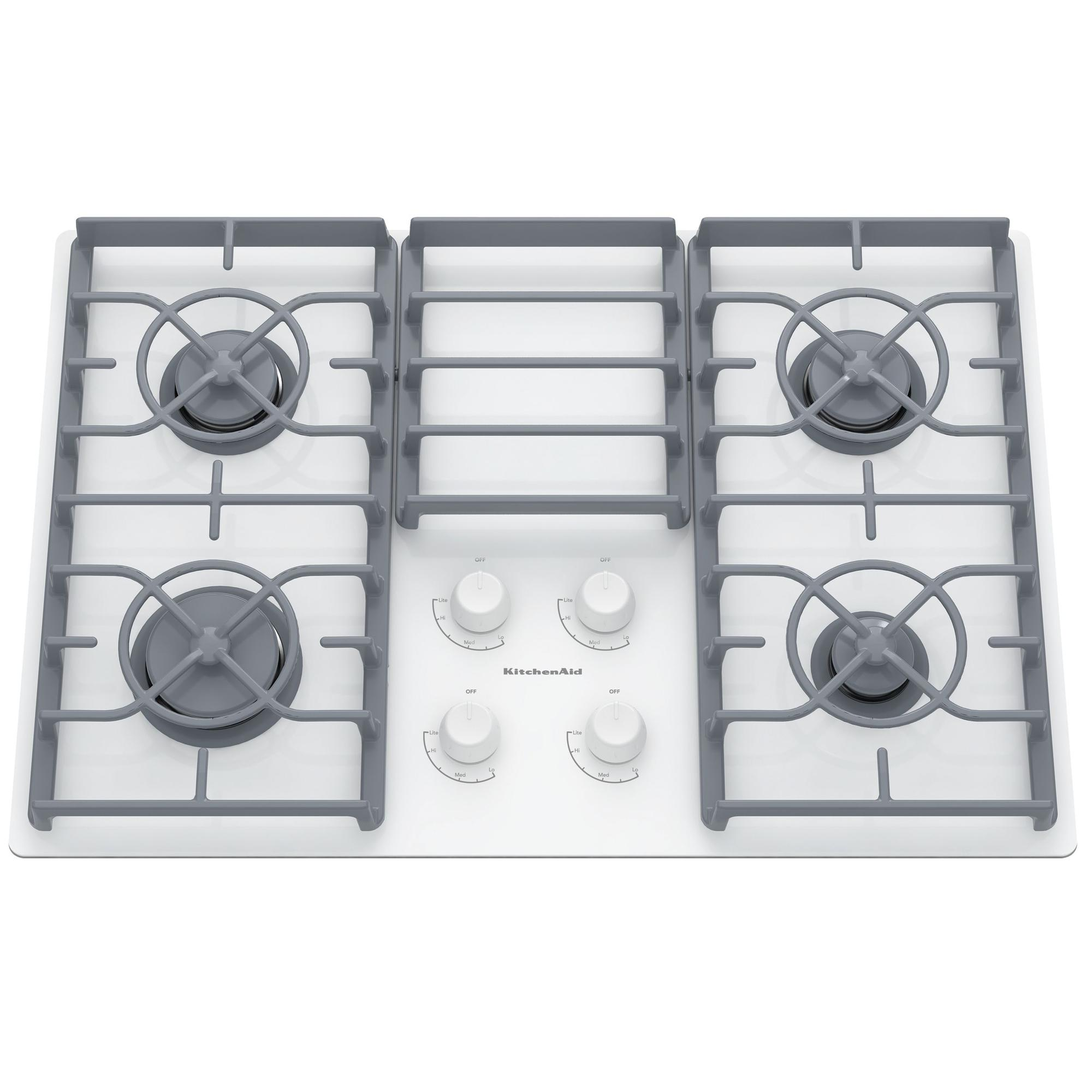 KGCC506RWW-30-Gas-Ceramic-glass-Conventional-Cooktop-w-4-Sealed-Burners-Whaite