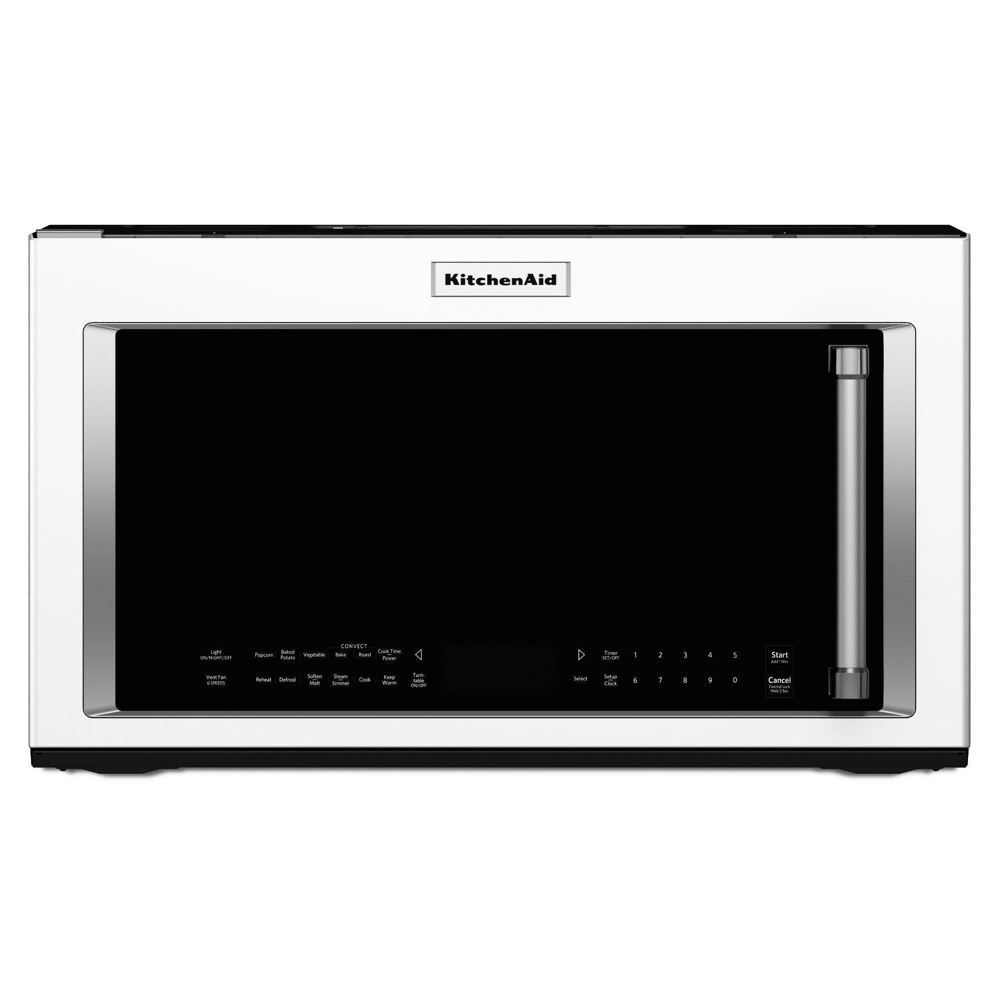 KitchenAid KMHC319EWH 1.9 cu. ft. 1000W Convection Microwave Oven - White