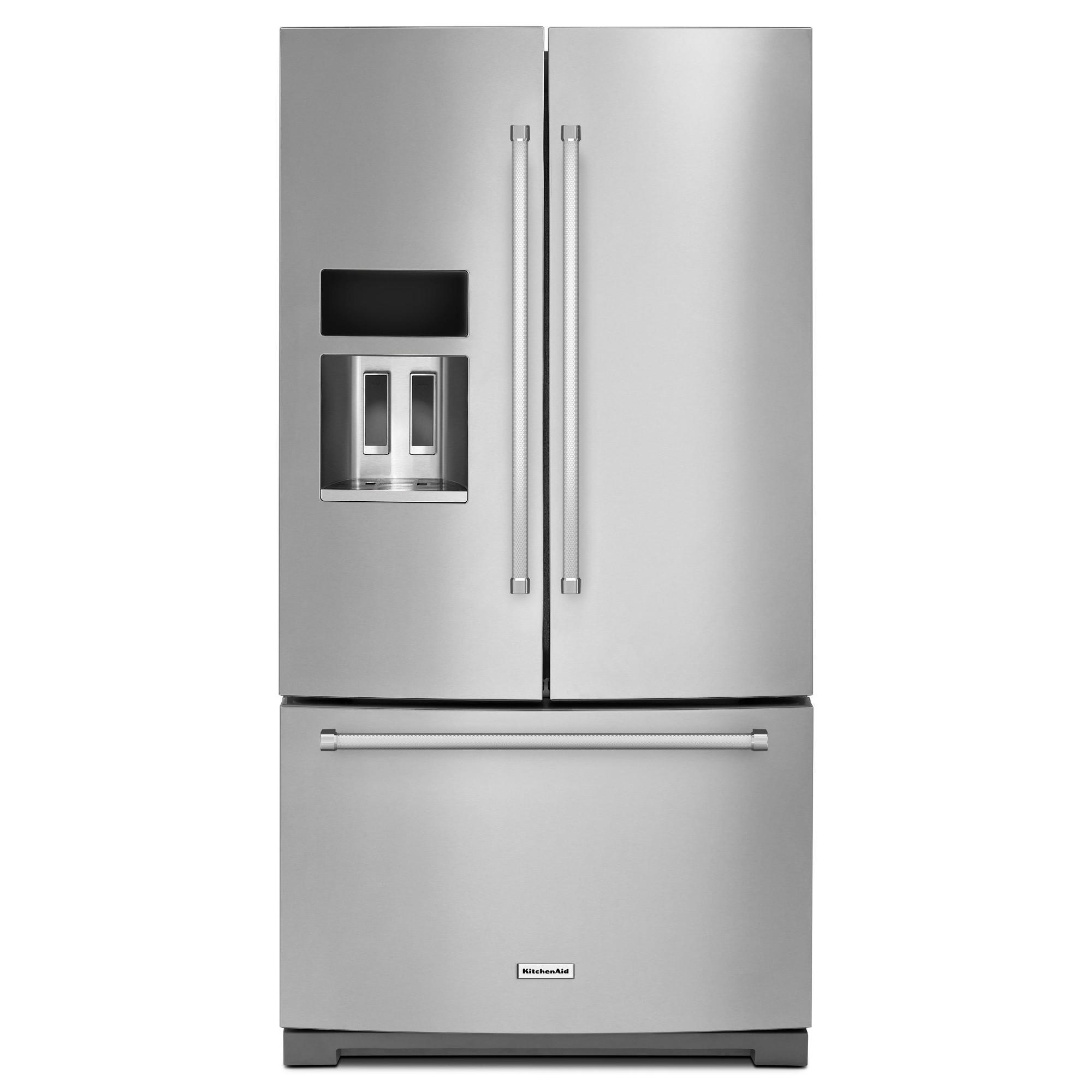 KitchenAid KRFF507ESS 26.8 cu. ft. French Door Refrigerator - Stainless Steel