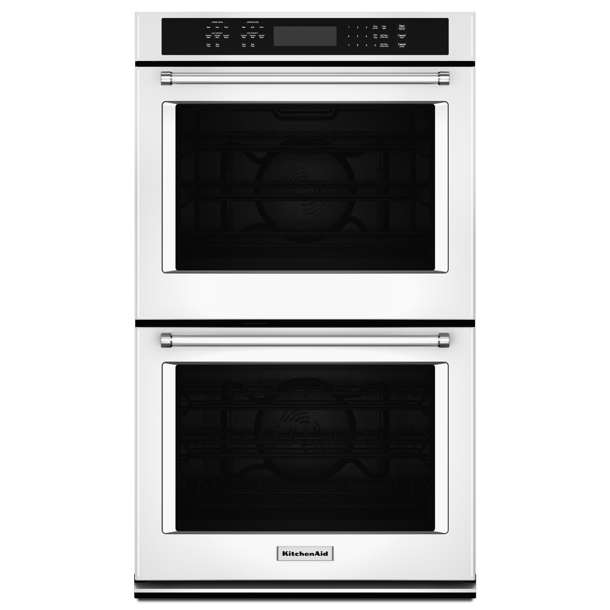 KitchenAid KODE507EWH 27 Double Wall Oven w/ Even-Heat™ True Convection - White