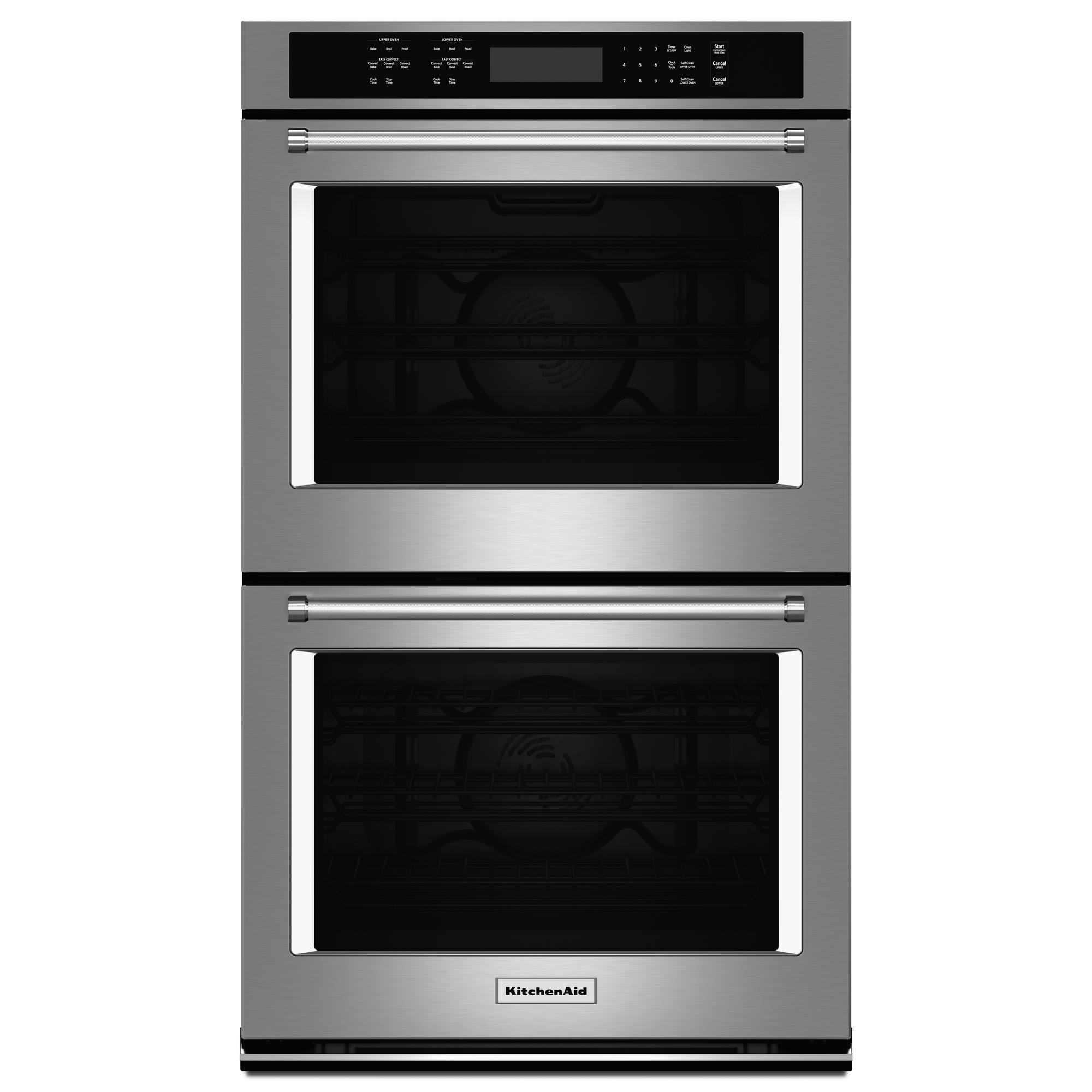 KitchenAid KODE500ESS 30  Electric Double Wall Oven w/ Even-Heat™ True Convection - Stainless Steel