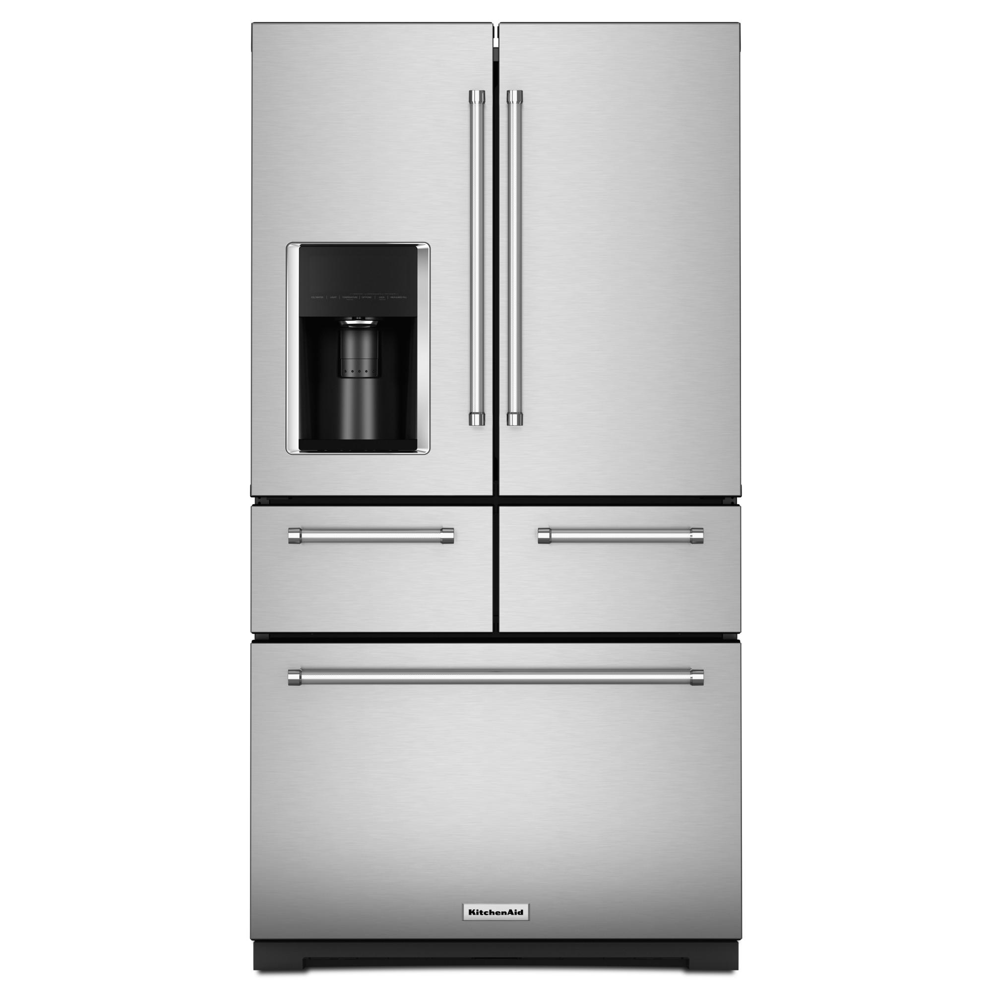 KRMF706ESS-25-8-cu-ft-Multi-Door-Refrigerator-Stainless-Steel