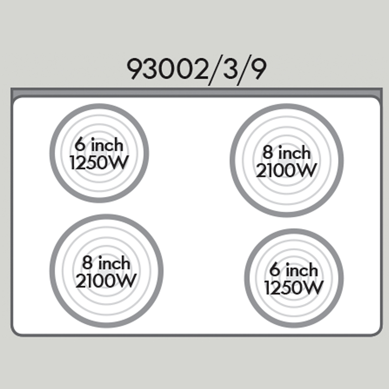 Kenmore 93002 4.9 cu. ft. Electric Range - White