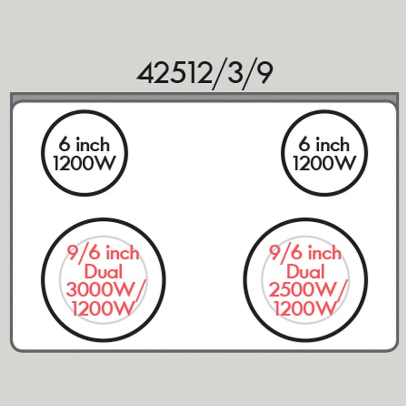 Kenmore 42513 4.2 cu. ft. Self-Clean Drop-In Electric Range - Stainless Steel