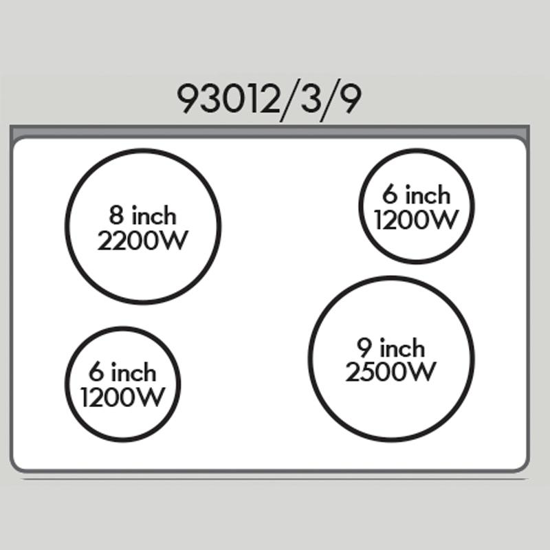 Kenmore 93012 4.9 cu. ft. Electric Range - White