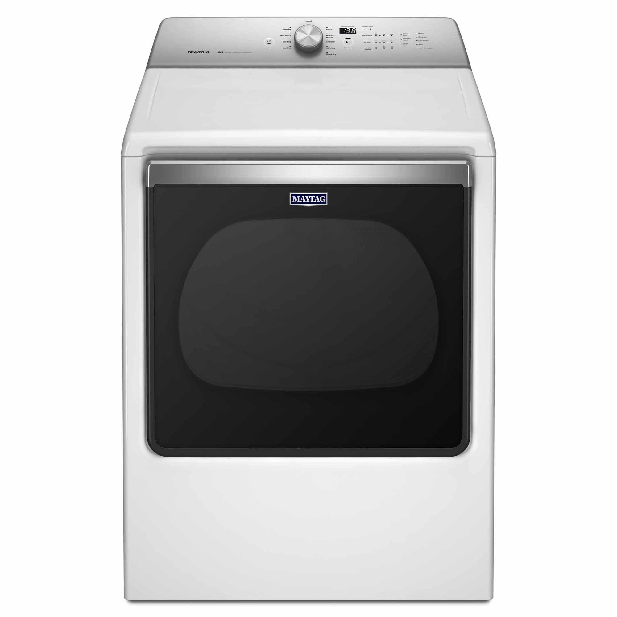 MEDB835DW-Bravos-8-8-cu-ft-Electric-Dryer-White