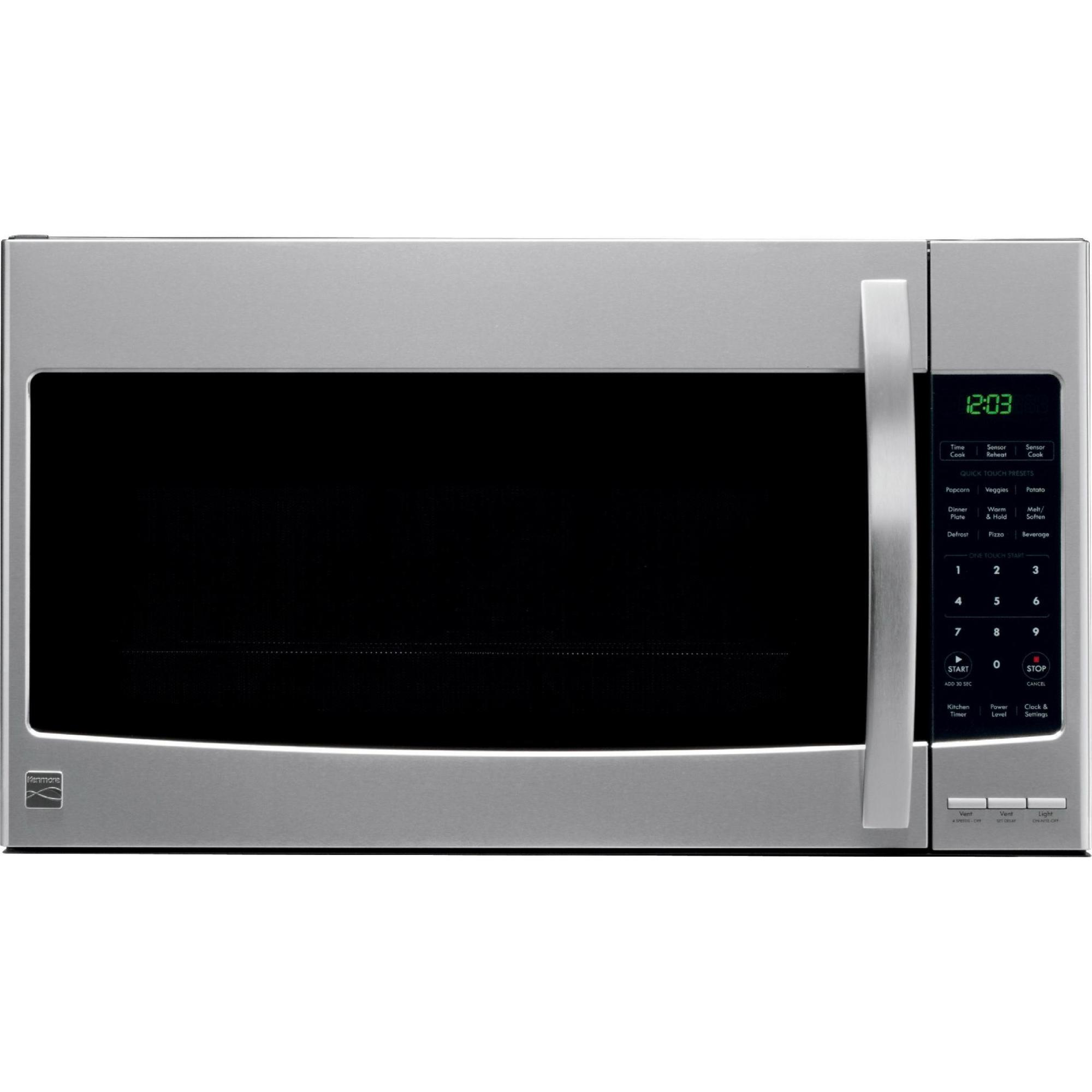 Kenmore 80353 2.1 cu. ft. Over-the-Range Microwave - Stainless Steel