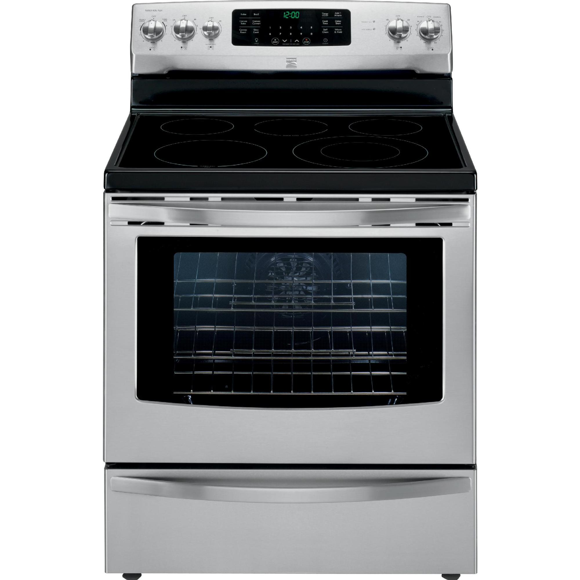 Kenmore 94203 5.7 cu. ft.  Electric Range w/ True Convection - Stainless Steel