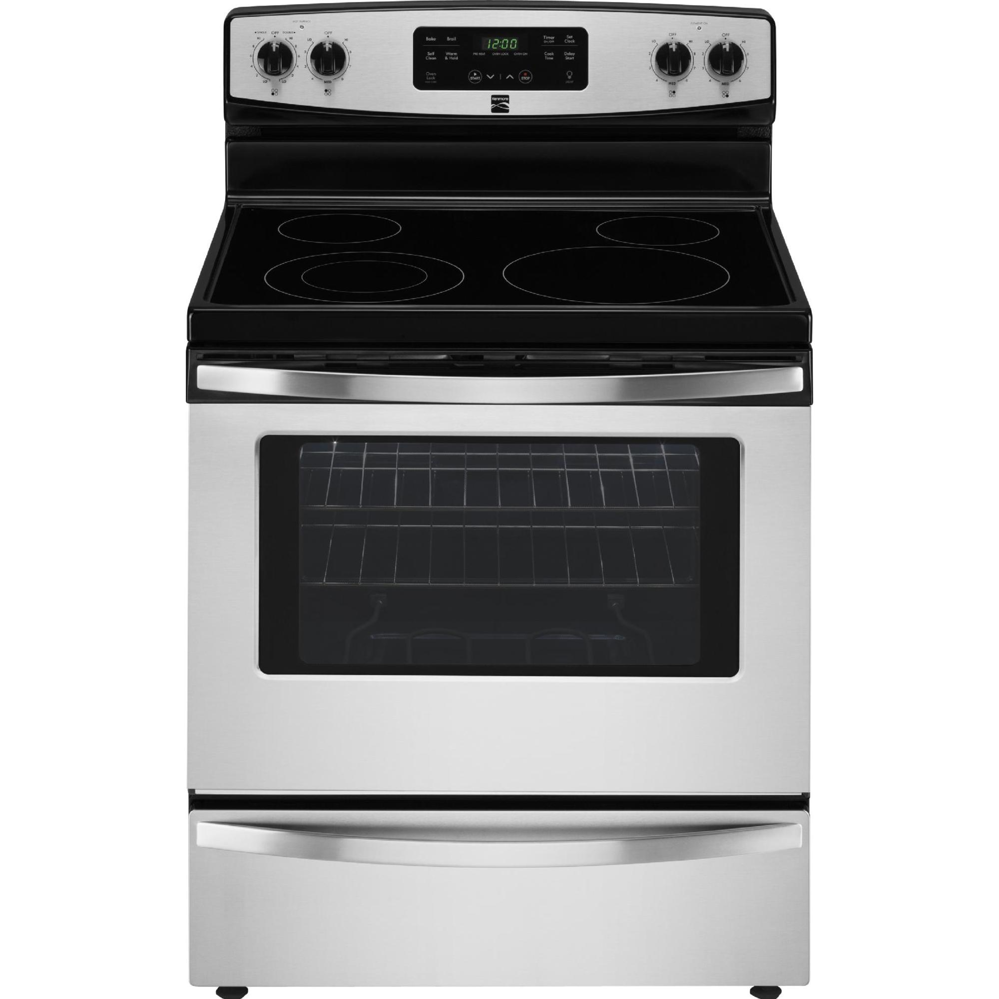 Kenmore 94173 5.3 cu. ft. Electric Freestanding Range w/ Self-Clean - Stainless Steel