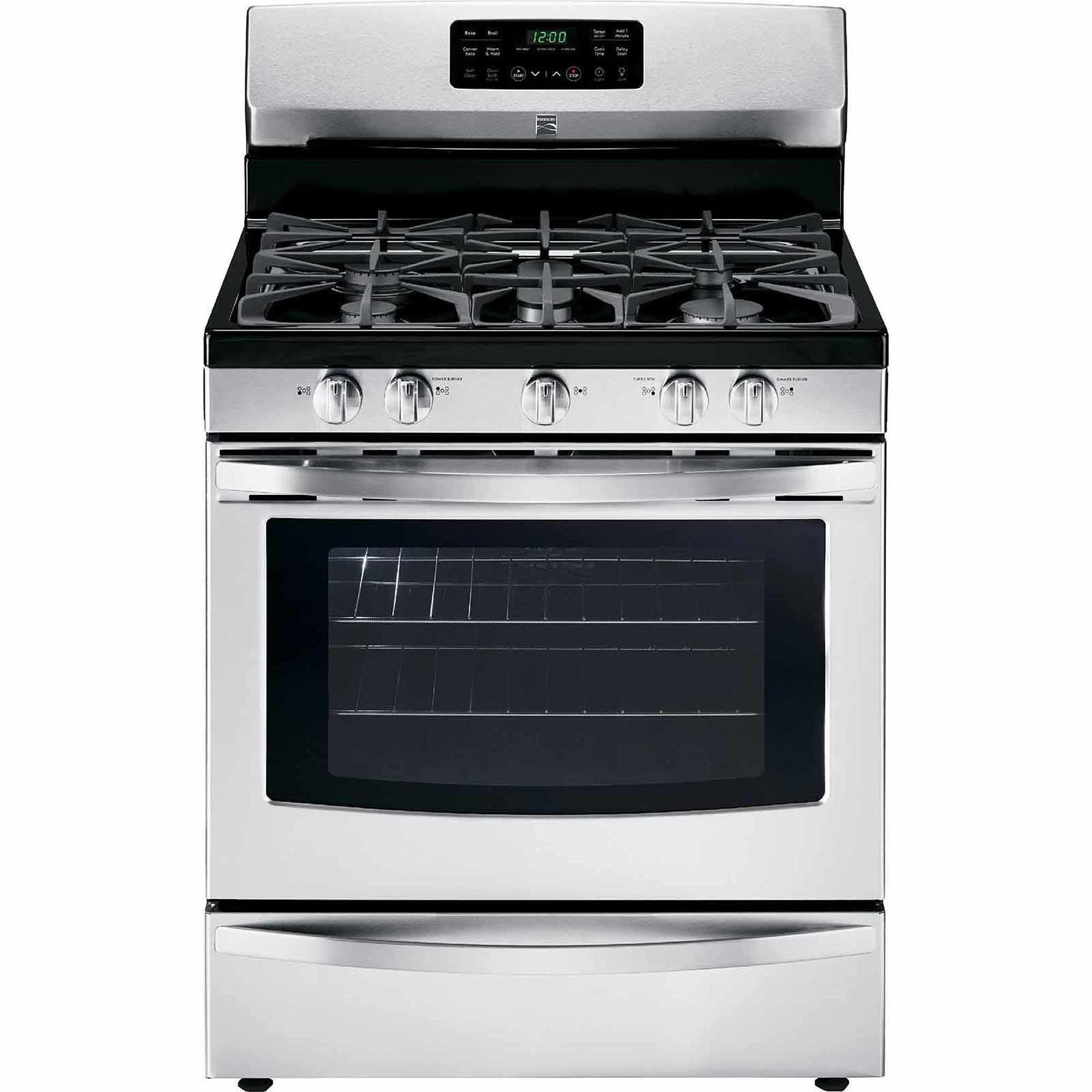 Kenmore 74233 5.0 cu. ft. Freestanding Gas Range w/ Convection - Stainless Steel